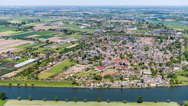 luchtfoto 2 de Langestraat